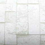 ROSEROSA Peel and Stick PVC Instant Brick / Stone Decorative Self-Adhesive Film Countertop Backsplash Coral Stone GM4252-3 : 1.96 feet X 8.20 feet