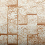 ROSEROSA Peel and Stick PVC Coral Stone Self-adhesive Covering Countertop Backsplash GM4252-4