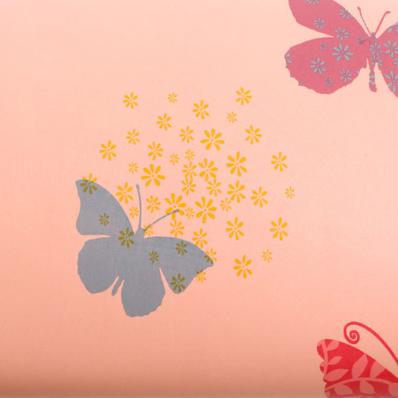 ROSEROSA Peel and Stick PVC Butterfly Instant Self-Adhesive Covering Countertop Backsplash GP9152-1