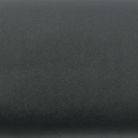 ROSEROSA Peel and Stick Faux Leather Pre-Pasted Polyurethane Leather Self-Adhesive Multipurpose Wall Paper (Grill Black : 19.68 inch X 53.14 inch)