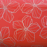 ROSEROSA Peel and Stick PVC High Glossy Hologram Self-adhesive Covering Modern Flower H8006-2