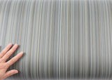 ROSEROSA Peel and Stick PVC Stripe Instant Self-adhesive Covering Countertop Backsplash Gray IE037