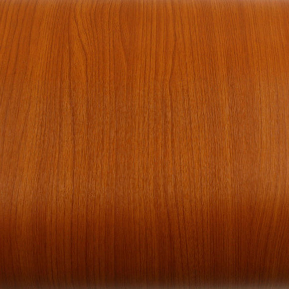 ROSEROSA Peel and Stick PVC Cherry Wood Instant Self-adhesive Covering Countertop Backsplash KW027N