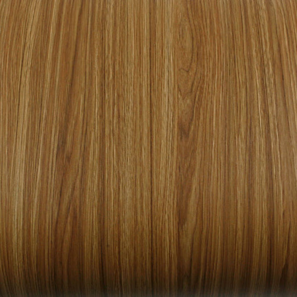 ROSEROSA Peel and Stick PVC Chestnut Wood Instant Self-adhesive Covering Countertop Wallpaper KW065N