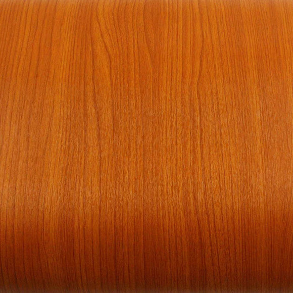 ROSEROSA Peel and Stick PVC Cherry Wood Instant Self-adhesive Covering Countertop Backsplash KW101N