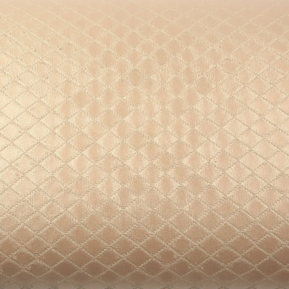 ROSEROSA Peel and Stick Polyester Leather Check Self-Adhesive Covering Countertop Backsplash LT679