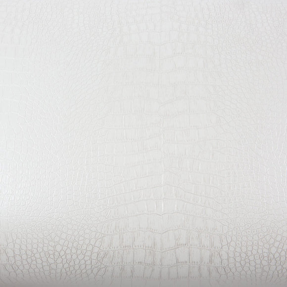 ROSEROSA Peel and Stick PVC Leather Self-Adhesive Covering Countertop Backsplash Crocodile LW353