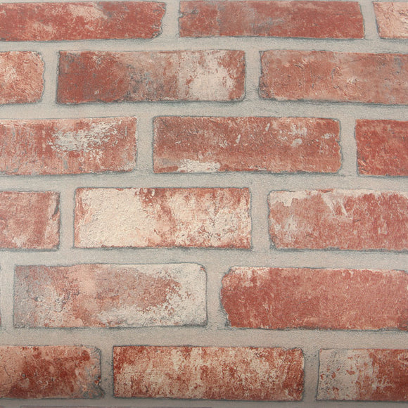 ROSEROSA Peel and Stick PVC Faux Brick Instant Self-Adhesive Covering Countertop Backsplash LW380