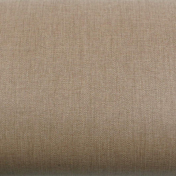 ROSEROSA Peel and Stick PVC Fiber Weave Self-Adhesive Covering Countertop Backsplash Brown LW464