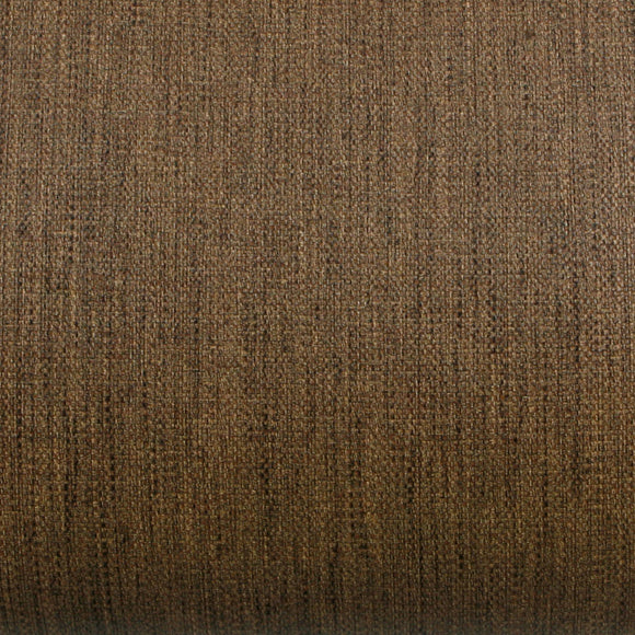 ROSEROSA Peel and Stick PVC Fiber Weave Self-Adhesive Covering Countertop Backsplash Brown LW465