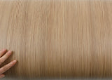 ROSEROSA Peel and Stick PVC Pine Wood Instant Self-adhesive Covering Countertop Backsplash LW493