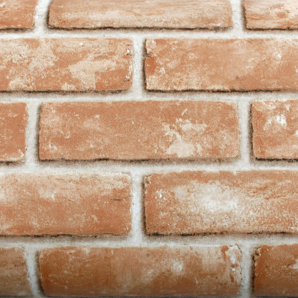 ROSEROSA Peel and Stick PVC Faux Brick Instant Self-Adhesive Covering Countertop Backsplash LW740