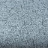 ROSEROSA Peel and Stick PVC Fabric Instant Self-Adhesive Covering Countertop Backsplash Blue LW861