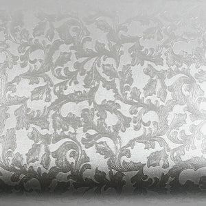 Peel and Stick Flame retardation PVC Instant Floral Decorative Self-Adhesive Film Countertop Backsplash Elizabeth MF5115-1 : 2.00 Feet X 6.56 Feet