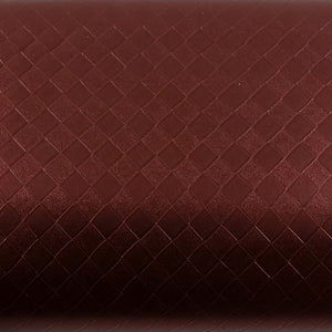 ROSEROSA Peel and Stick PVC Leather Check Self-Adhesive Covering Countertop Backsplash MG5125-8