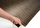 ROSEROSA Peel and Stick PVC Wave Decorative Instant Self-Adhesive Covering Countertop Backsplash Cubic Wave MG5176-2 : 2.00 Feet X 6.56 Feet