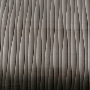 ROSEROSA Peel and Stick PVC High Glossy Wave Instant Self-Adhesive Covering Countertop Backsplash Cubic Wave PGS5176-3 : 2.00 Feet X 6.56 Feet