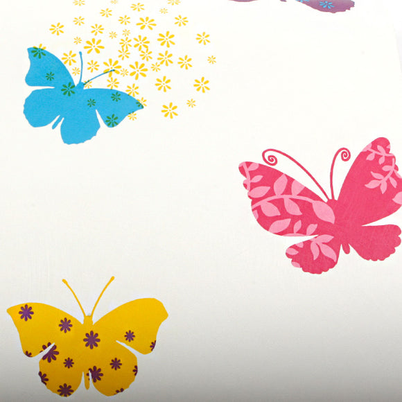 ROSEROSA Peel and Stick PVC Butterfly Instant Self-Adhesive Covering Countertop Backsplash GP9152-2