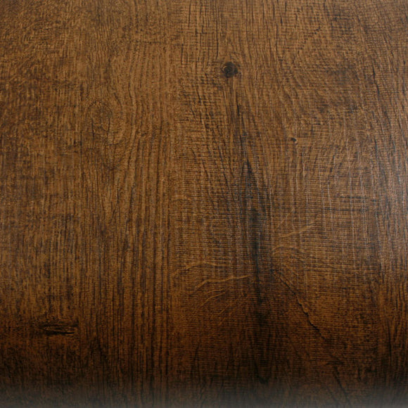 ROSEROSA Peel and Stick Flame Retardation PVC Wild Wood Self-adhesive Covering Countertop PF032-2