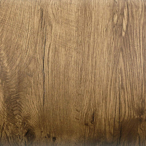 ROSEROSA Peel and Stick PVC Classic Wood Self-adhesive Wallpaper Covering Countertop PG4146-1