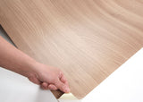 ROSEROSA Peel and Stick PVC Flame Retardation Acacia Self-adhesive Covering Countertop PF4178-3
