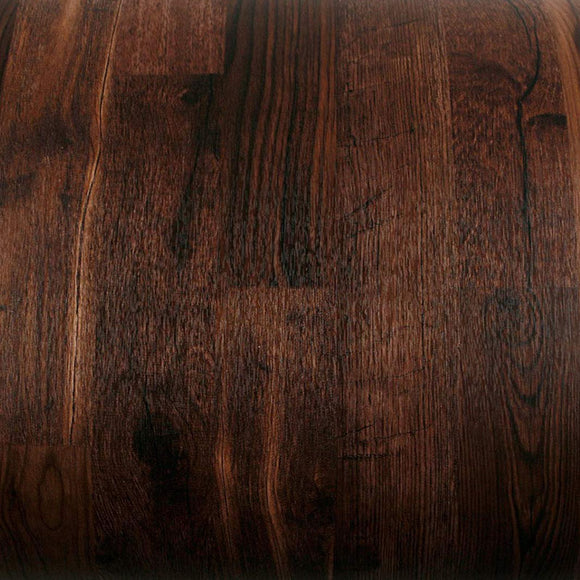 ROSEROSA Peel and Stick Flame Retardation PVC Reclaimed Wood Self-adhesive Covering Countertop PF686