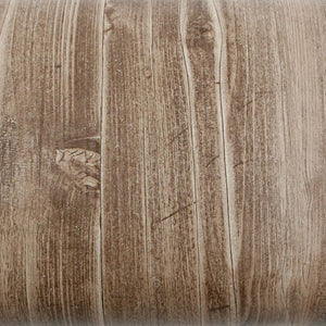 ROSEROSA Peel and Stick PVC Antique Wood Knot Self-adhesive Covering Countertop Backsplash PG2134-2