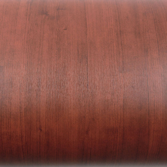 ROSEROSA Peel and Stick PVC Sweet Cherry Wood Self-adhesive Covering Countertop Backsplash PG4010-2
