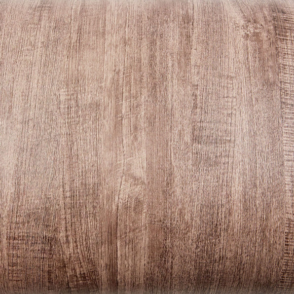 ROSEROSA Peel and Stick PVC Antique Teak Self-adhesive Covering Countertop Backsplash PG4337-4
