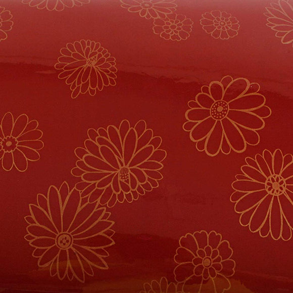 ROSEROSA Peel and Stick PVC Floral Self-adhesive Covering Countertop Backsplash Rafine PGS9121-10