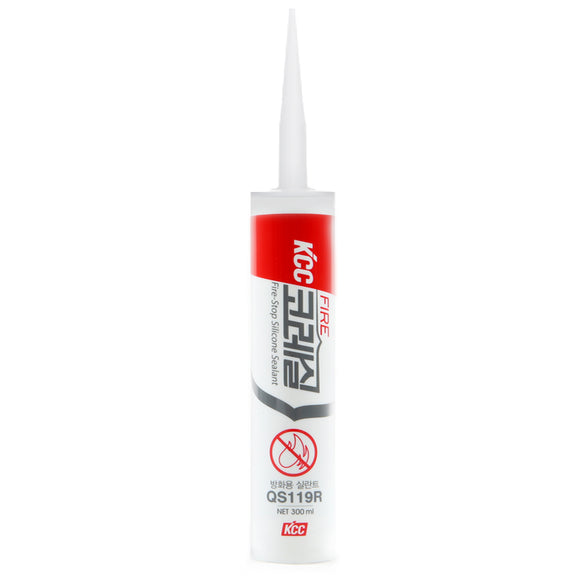 Fireproofing Sealant QS119R Gray Silicone Caulk fireproofing and Waterproofing Areas (containing Electronic/Electric Equipment)