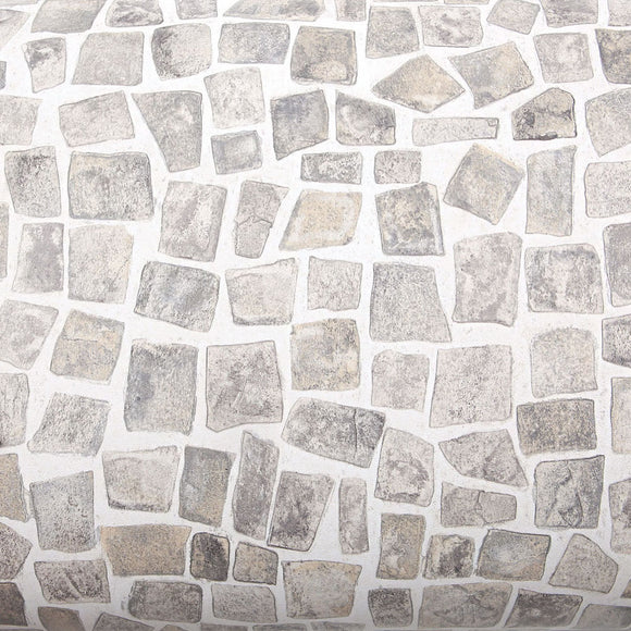 ROSEROSA Peel and Stick PVC Cobble Stone Instant Self-Adhesive Covering Countertop Backsplash SM747