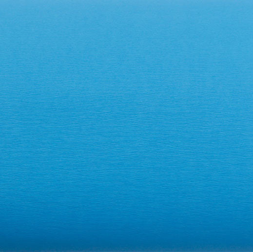 ROSEROSA Peel and Stick Faux Leather Pre-Pasted Polyurethane Leather Self-Adhesive Multipurpose Wall Paper (Wave Sky Blue : 19.68 inch X 53.14 inch)