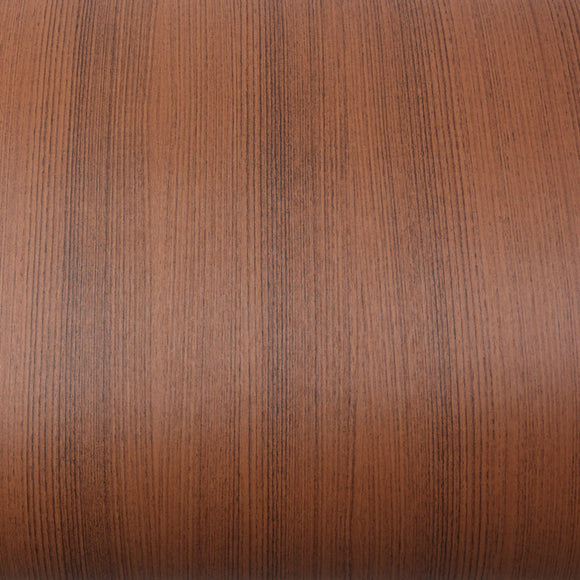 ROSEROSA Peel and Stick PVC Teak Wood Instant Self-adhesive Covering Countertop Backsplash WD038