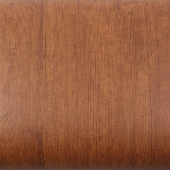 ROSEROSA Peel and Stick PVC Cherry Wood Instant Self-adhesive Covering Countertop Backsplash WD312