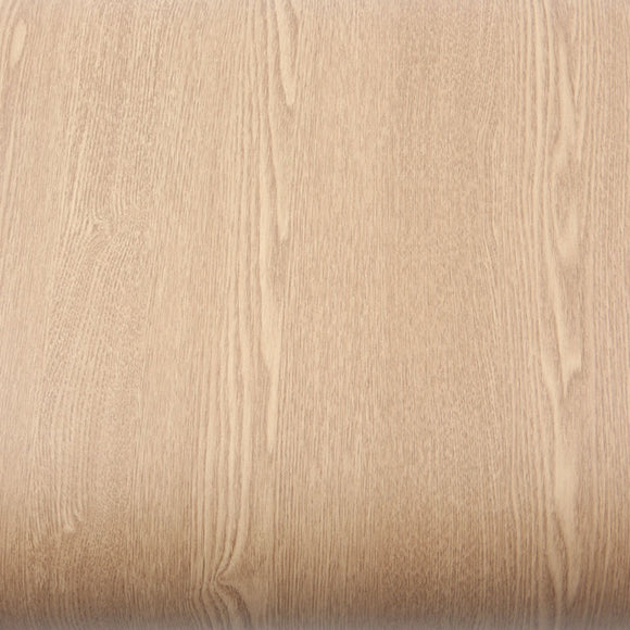 ROSEROSA Peel and Stick PVC Oak Wood Instant Self-adhesive Covering Countertop Backsplash WD818