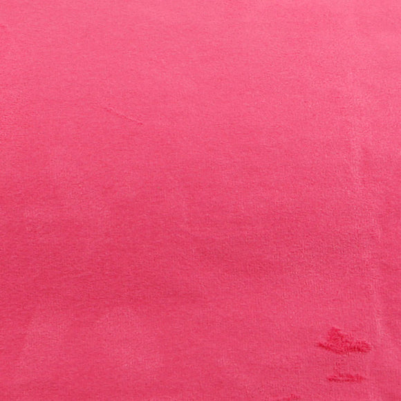 ROSEROSA Peel and Stick Suede Look Pre-pasted Fabric Shelf Liner Self-Adhesive Faux Suede : Pink