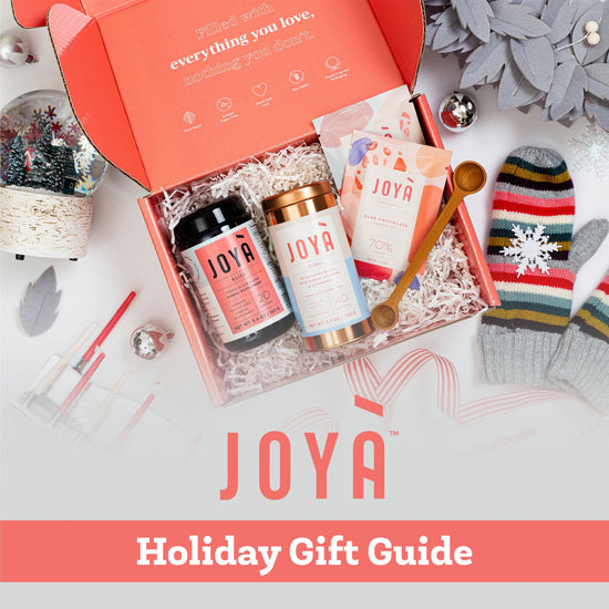 Shop JOYÀ's 2020 Holiday Gift Guide online at joya.ca