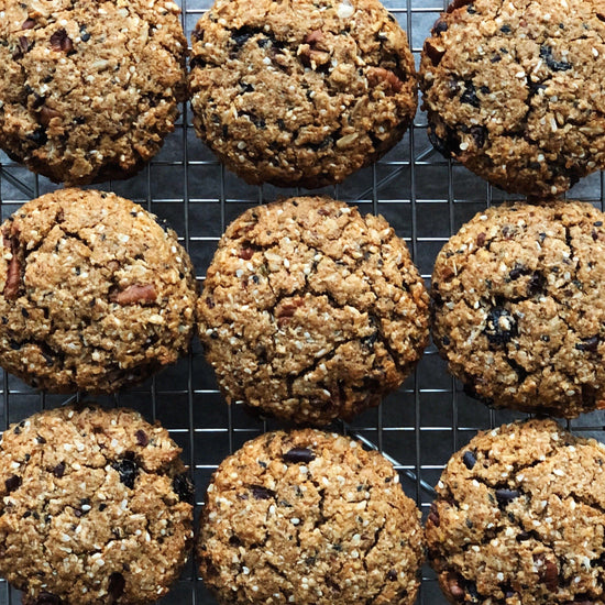 Kitchen Sink Breakfast Cookies