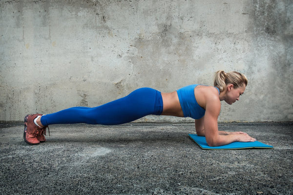 Plank Pose: one exercise, multiple gains