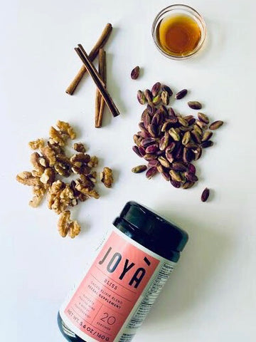 Ingredients for JOYÀ Baklava Bliss Nut Butter