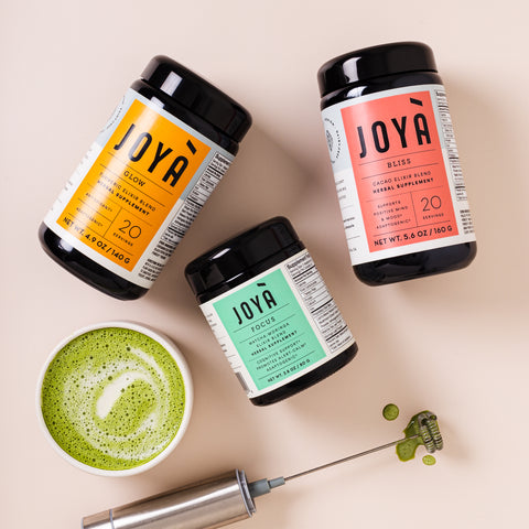 Shop JOYÀ Adaptogenic Immunity Bundle of elixir blends at joya.ca.