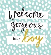 Beautiful New Baby Greeting Card