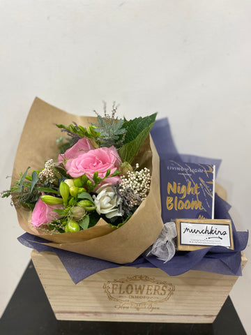 Just for you! Posy + Candle + Fudge