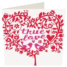 Romantic Greeting Card