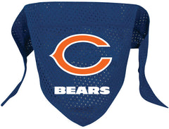 Chicago Bears Mesh Dog Bandana - Chicago English Bulldog Rescue - eBully Boutique