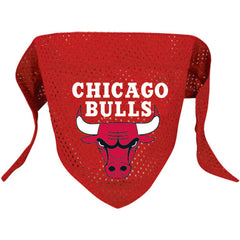 Chicago Bulls Mesh Dog Bandana - Chicago English Bulldog Rescue - eBully Boutique