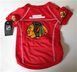 Chicago Blackhawks Pet Jersey - Chicago English Bulldog Rescue - eBully Boutique  - 1