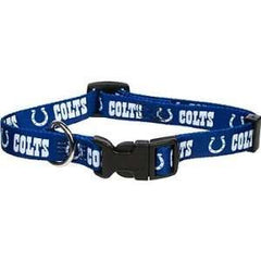 Indianapolis Colts Collar - Chicago English Bulldog Rescue - eBully Boutique