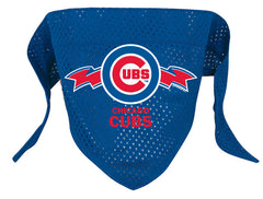 Chicago Cubs Mesh Dog Bandana - Chicago English Bulldog Rescue - eBully Boutique